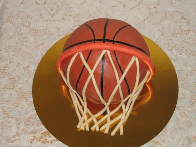 "Торт: ""Баскетбольный мяч """