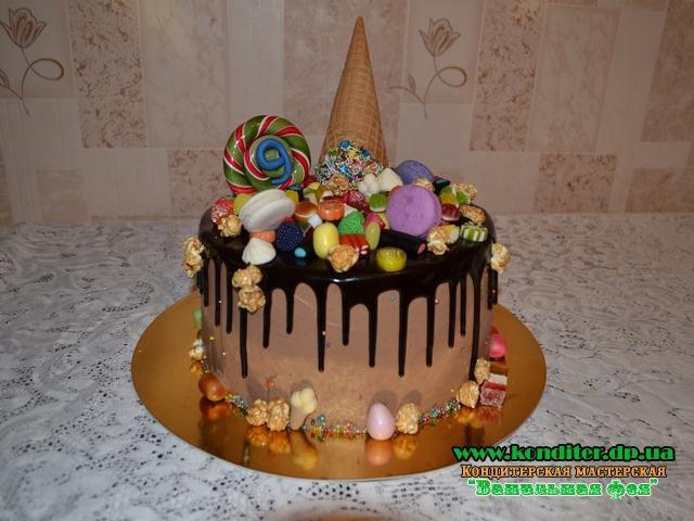 Торт с глазурью своими руками 17